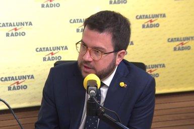 Aragonès demana a Sánchez que es comprometi a crear una taula de negociació per avalar-lo (Europa Press TV - Europa Press - Archivo)