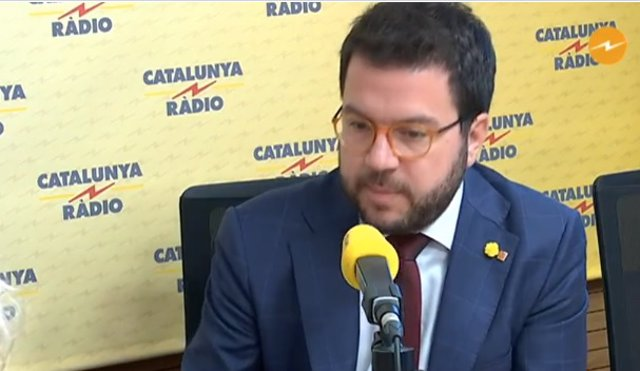 Entrevista al vicepresidente del Govern, conseller de Economía y coordinador nacional de ERC, Pere Aragonès
