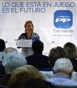 María Luisa Peón, La portavoz del Grupo Popular en Torrelavgea