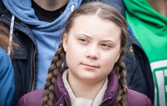 L'activista Greta Thunberg en una foto d'arxiu