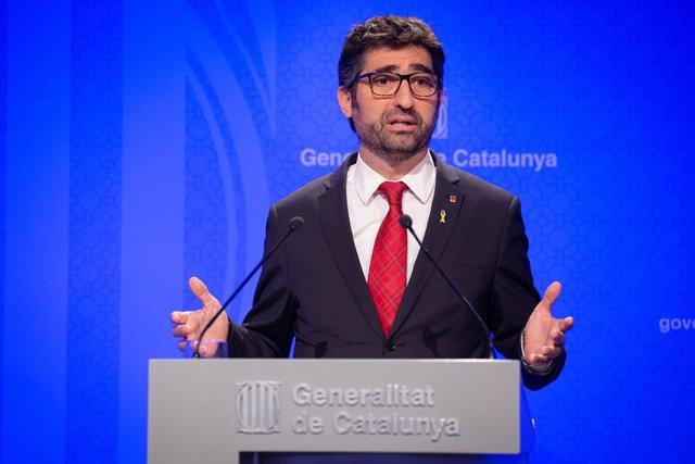 El conseller de Polítiques Digitals i Administració Pública, Jordi Puigneró.