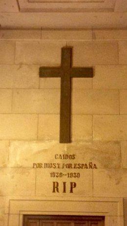 Interior de una de las capillas de la Basílica del Valle de los Caídos en San Lorenzo de El Escorial (Madrid)