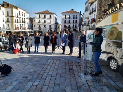 La Caravana del Cine recorrerá tres comarcas extremeñas para localizar exteriores y ofrecer formación audiovisual