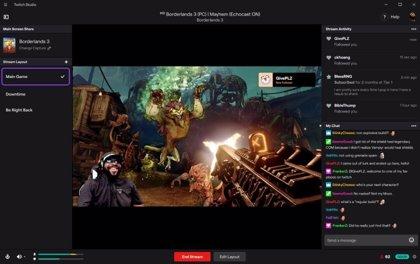 Twitch Studio facilita la retransmisión de videojuegos en directo a los nuevos 'streamers'