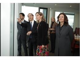 Chacón, Calvet i Conesa s'han reunit aquest dimecres amb directius de Nissan a la seu central de la multinacional a Yokohama (Japó).