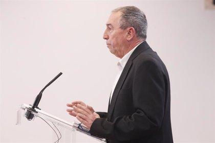 Baldoví pide al PSOE retomar su negociación de julio y avanza que no habrá problema para acordar