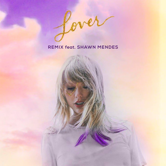 Portada del remix de Lover