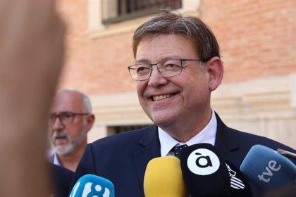 """Puig confía en que el nuevo gobierno cumplirá con la financiación e irá """"más allá de fronteras partidistas"""""""