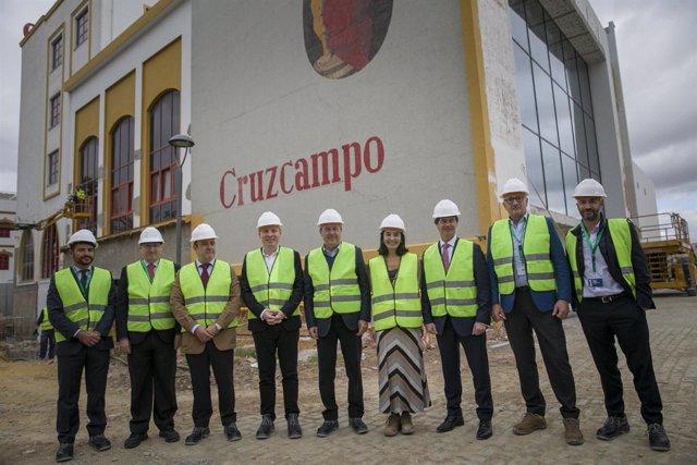 """Sevilla.-Reabre en mayo la antigua sede de Cruzcampo convertida en """"fábrica de e"""