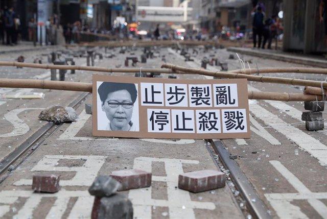 Protestas contra el Gobierno de Carrie Lam en Hong Kong