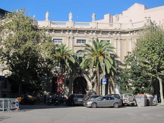 Façana del Col·legi de l'Advocacia de Barcelona (Icab).