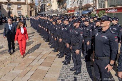 La creación de la Policía de Barrios y la modernización de la Policía Local, objetivos a corto plazo en Cartagena