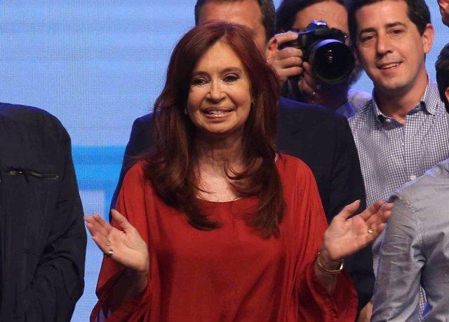 Foto de archivo de Cristina Fernández de Kirchner