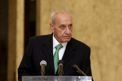 """El presidente del Parlamento de Líbano pide formar gobierno y advierte contra """"caer en la trampa del vacío político"""""""
