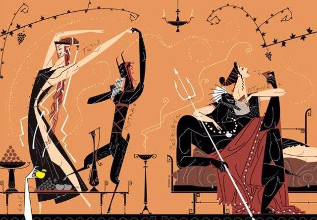 Ilustración para La Iliada