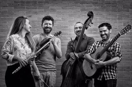 El grupo A-Quattro lleva al OCIb en Huelva su espectáculo 'Música de orilla a orilla'