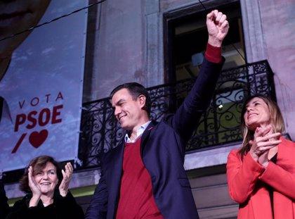 """Calvo dice que """"lo importante"""" es que va a haber gobierno y estabilidad en España"""