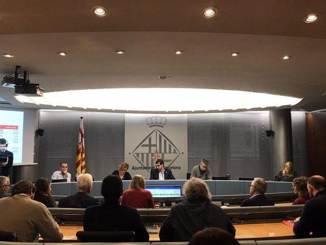 Comissió extraordinària d'Economia i Hisenda de l'Ajuntament de Barcelona