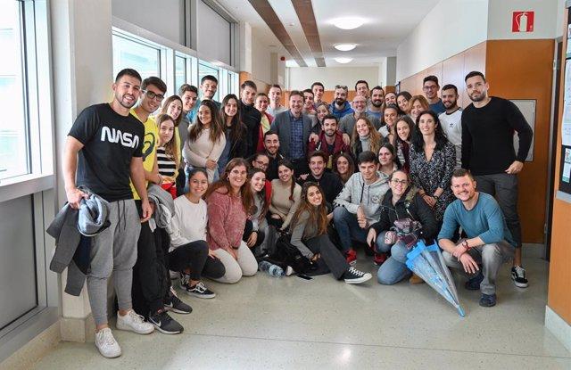 Alumnes participants del projecte Enbiciat