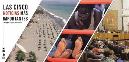 Las cinco noticias más importantes de Europa Press Andalucía este miércoles 13 de noviembre a las 19 horas