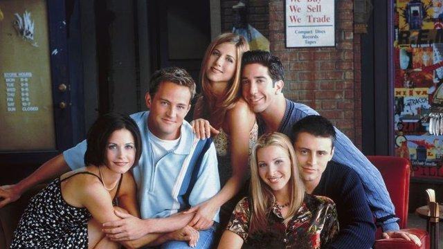 El reparto de Friends
