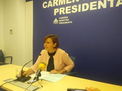 """Moriyón dice que la postura de Foro sobre la oficialidad """"es la misma que hemos mantenido siempre"""""""