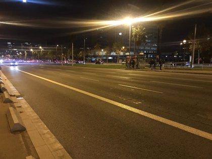 Los CDR cortan accesos a Barcelona por la Diagonal, Meridiana, Gran Via y Ronda del Mig