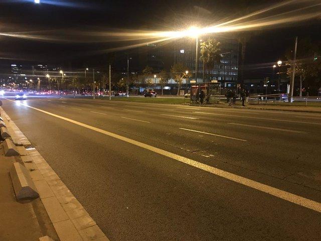 L'avinguda Diagonal tallada durant protestes de CDR