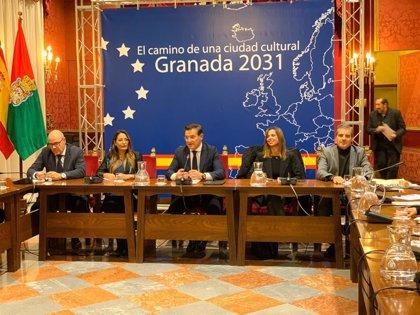 El Ayuntamiento de Granada relanza con la comisión municipal el proyecto de Capitalidad Europea de la Cultura 2031