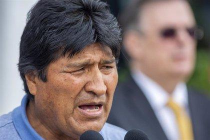 """Morales pide ayuda a la ONU y la Iglesia Católica para """"pacificar"""" Bolivia mediante el diálogo"""