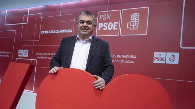 El secretario de Coordinación Territorial del PSOE, Santos Cerdán, en Onda Vasca