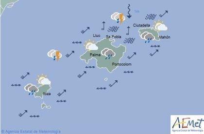 El tiempo en Baleares hoy, 14 de noviembre de 2019