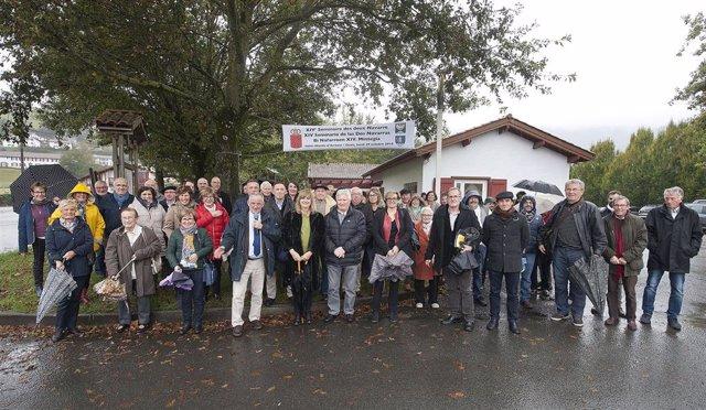 Participantes en el XIV Seminario las dos Navarras en 2018