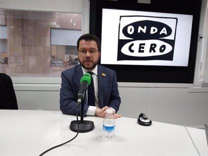 """ERC pide una """"solución política"""" para Cataluña, """"sin actuaciones penales"""" y partir del documento de Pedralbes"""