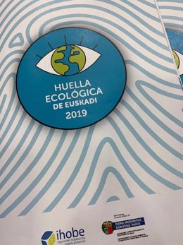 Informe sobre la Huella Ecológica de Euskadi en 2019.
