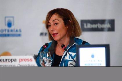 """Paula Fernández-Ochoa: """"Estamos trabajando en una nueva Blanca, hay buena cantera"""""""