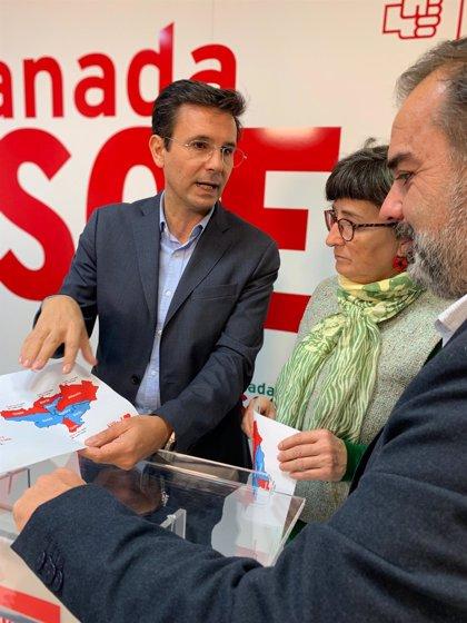Cuenca pide a Salvador (Cs) que dimita y deje gobernar al PSOE en el Ayuntamiento de Granada