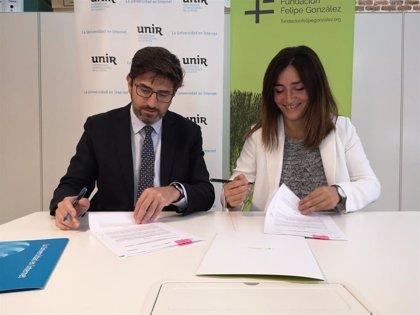 """UNIR y la Fundación Felipe González impulsarán en Ecuador """"el debate de ideas"""" para generar """"pequeñas reformas"""""""