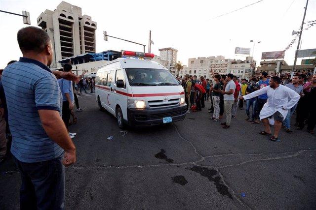 Ambulancia en Bagdad