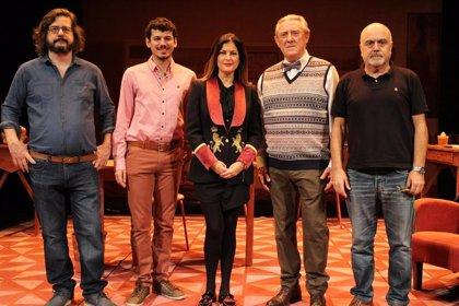 Platónica Teatro estrena este jueves en el Guimerá la obra 'Antimateria'