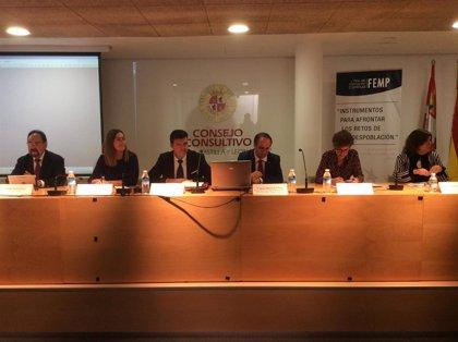 """El Comisionado para el Reto Demográfico de Aragón defiende ante la FEMP el trabajo """"pionero"""" desarrollado en esta CCAA"""
