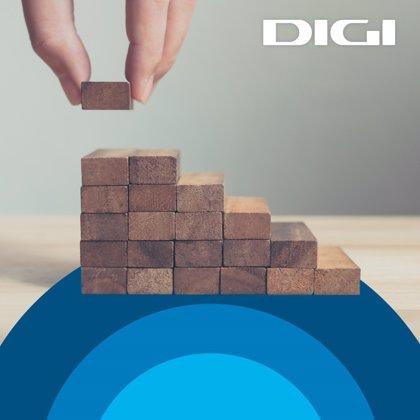 Digi eleva un 52,2% sus ingresos en España hasta septiembre y supera los 1,7 millones de clientes