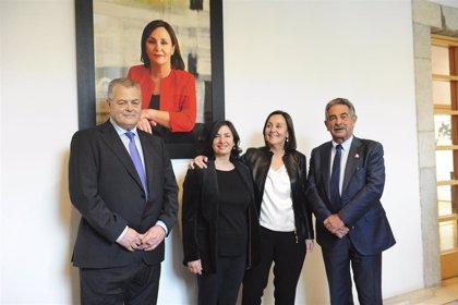 Gorostiaga se incorpora a la galería de retratos presidenciales del Parlamento