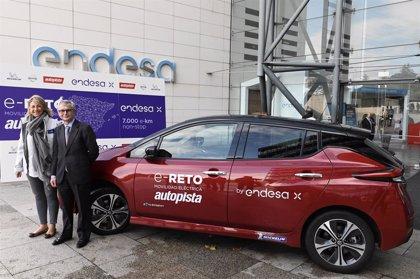 Endesa completa el reto de recorrer en coche eléctrico todas las provincias españolas en menos de 7 días