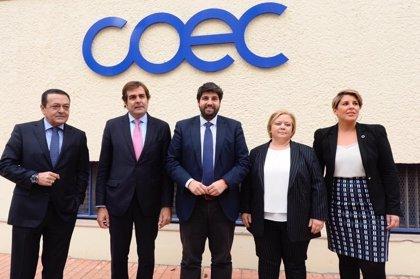"""López Miras destaca el papel de COEC y el trabajo conjunto """"para conseguir que Cartagena siga siendo referente"""""""