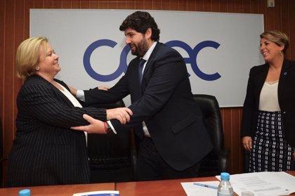 Ana Correa, primera mujer al frente de una confederación en la Región de Murcia