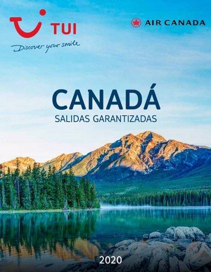 COMUNICADO: TUI publica un díptico de Canadá con salidas garantizadas para el verano de 2020