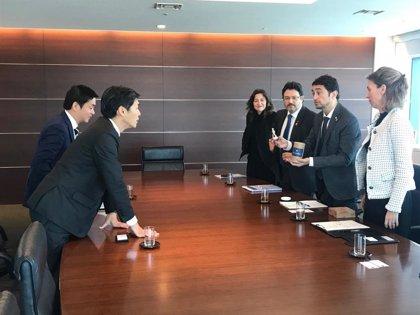 La Generalitat se reúne con la aerolínea ANA para explorar las posibilidades de la ruta con Tokyo