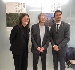 Conesa trasllada a Toyo Ito la importància d'acollir l'Hermitage per al Port de Barcelona (PUERTO DE BARCELONA)