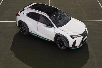 Lexus lanza una edición especial del UX 250h híbrido para conmemorar su patrocinio de la Copa Davis
